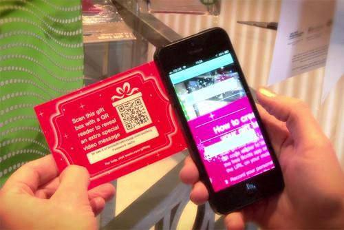 Boots Christmas app adds video messages to gift tags