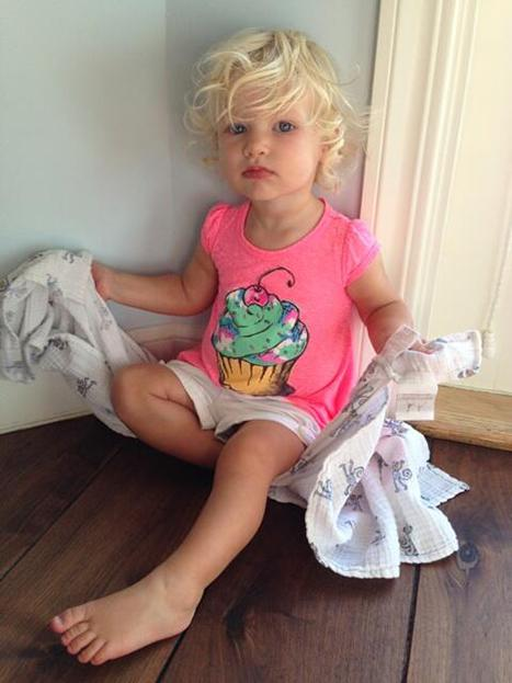 Jessica Simpson Daughter Maxwell Photo: Toddler Shows Off Blonde Locks