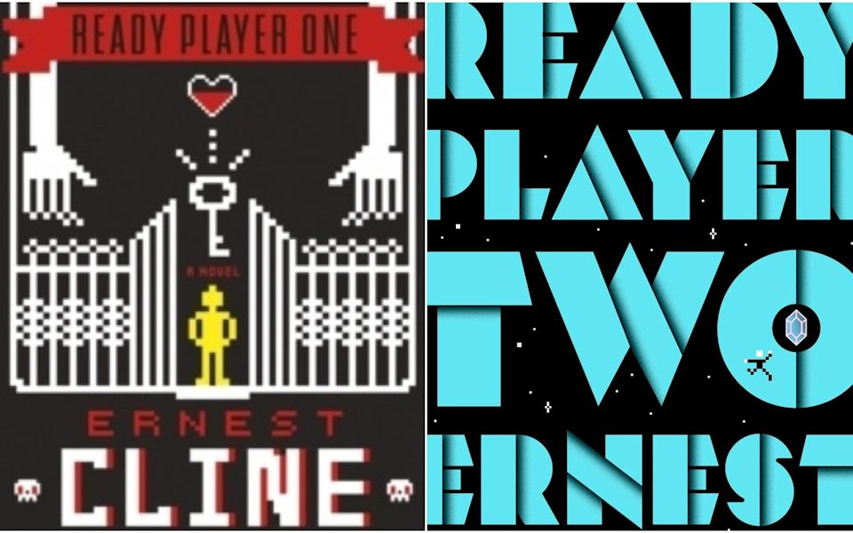 Ready Player Two (r), the sequel to Cline's debut (l), is out today - Cornerstone