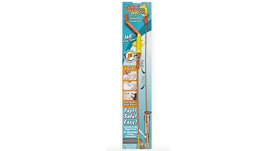 The Drain Weasel 2 Disposable Plughole Cleaning Brushes
