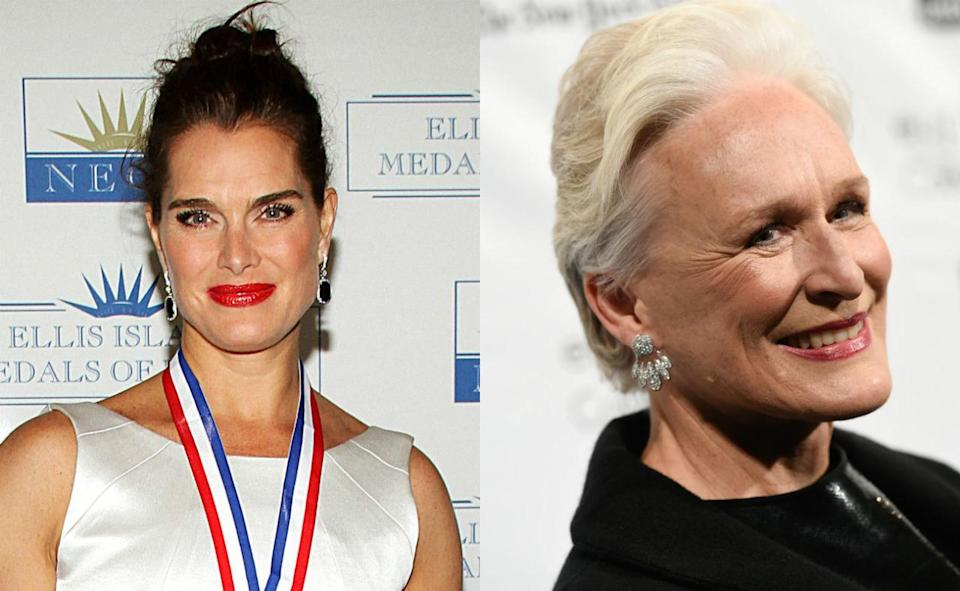 <p>'Fatal Attraction' bunny boiler Glenn Close is second cousin to Brooke Shields.</p>