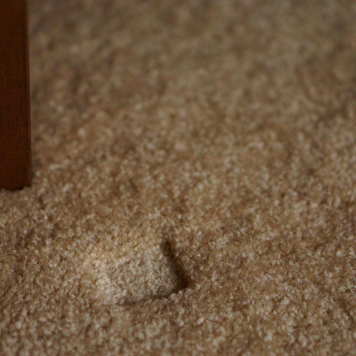 this crazy ice trick will fix furniture dents in your carpet