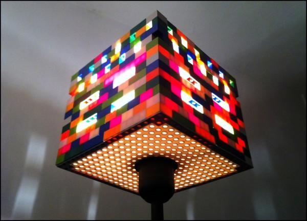 """<div class=""""caption-credit""""> Photo by: Recycled Art</div><div class=""""caption-title"""">LEGO Lamp</div>Make your living space glow with this modern LEGO-made lamp. A cool source of light, this lamp is totally practical and is sure to add a pop of color and dimension to your home decor. <br> <a href=""""http://www.babble.com/mom/20-wacky-yet-practical-items-made-of-legos/?cmp=ELP bbl lp YahooShine Main  011013  20wackyyetpracticalitemsmadeoflegos famE   """" rel=""""nofollow noopener"""" target=""""_blank"""" data-ylk=""""slk:Get the tutorial at Recycled Art"""" class=""""link rapid-noclick-resp""""><i>Get the tutorial at Recycled Art</i></a> <br> <b><i><a href=""""http://www.babble.com/home/10-ways-to-rock-christmas-lights-all-year/?cmp=ELP bbl lp YahooShine Main  011013  20wackyyetpracticalitemsmadeoflegos famE   """" rel=""""nofollow noopener"""" target=""""_blank"""" data-ylk=""""slk:Related: 10 pretty ways to decorate with holiday lights all year"""" class=""""link rapid-noclick-resp"""">Related: 10 pretty ways to decorate with holiday lights all year</a></i></b>"""