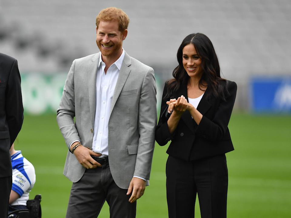The Duke and Duchess in Ireland earlier this year (PA)