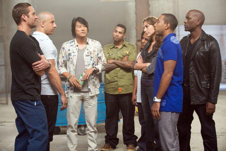 Members of the Fast and Furious family