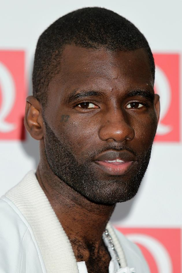 Wretch 32 smouldered for the cameras.