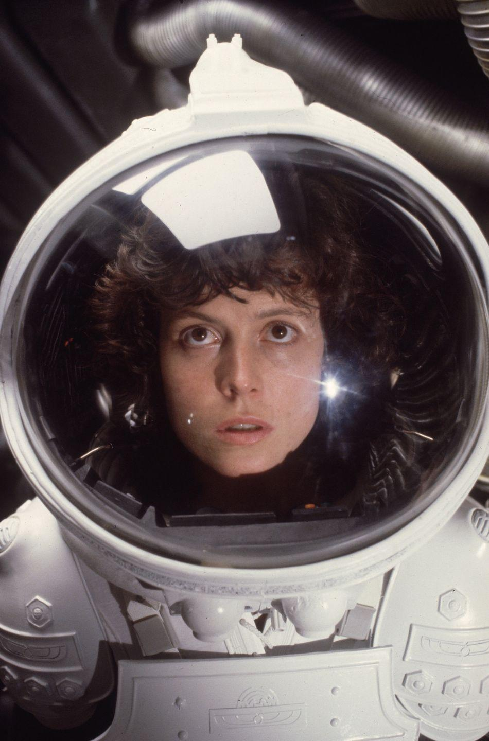 <p>Rarely do you see strong female leads in horror movies, but this one has two — one human, and one alien. Sigourney Weaver kicks ass all over the place and manages to survive without having anything disgusting erupt out of her chest. </p>