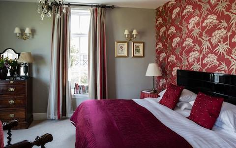 Lake Country House Hotel & Spa, Llangammarch Wells, Powys, Wales bedroom