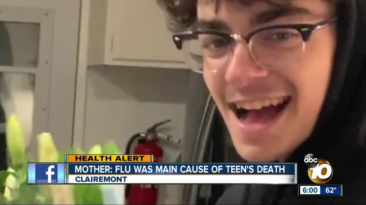 mother  flu was main cause of teen u0026 39 s death  video