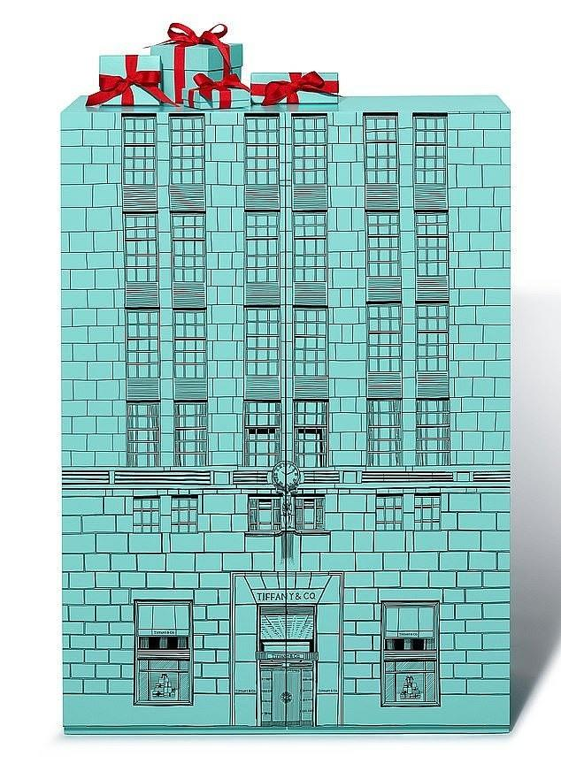 A £104k Tiffany advent calendar is essential for maintaining your high-ranking [Image: Tiffany]