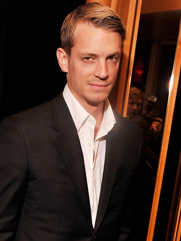 """NEW YORK, NY - JUNE 05:  Actor Joel Kinnaman attends The Cinema Society & Fox Searchlight With Groundswell Productions Screening Of """"Lola Versus"""" at SVA Theater on June 5, 2012 in New York City.  (Photo by Stephen Lovekin/Getty Images)"""