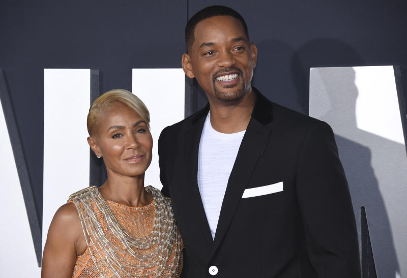 People Jada and Will Smith