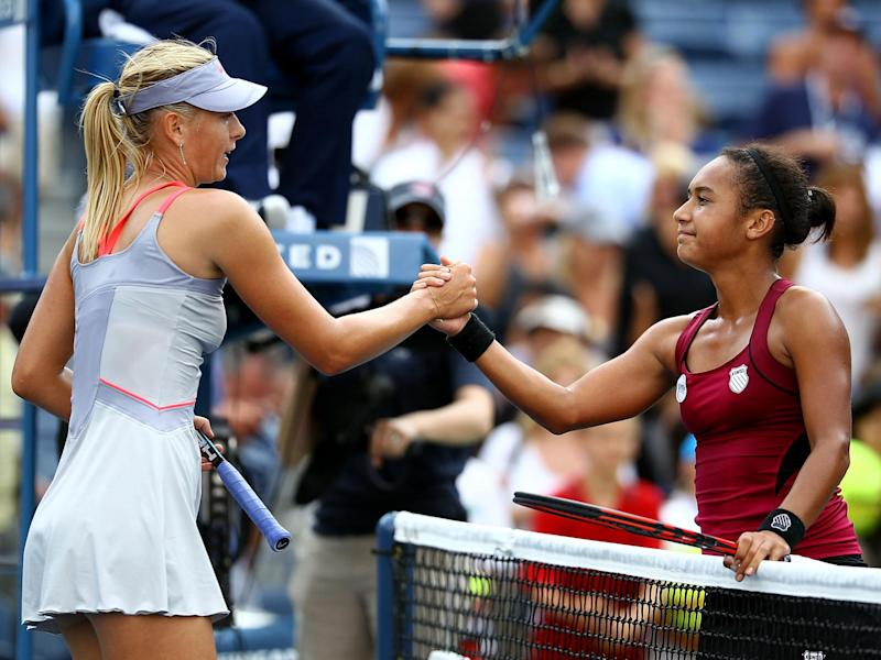 The British number two thinks Sharapova's route back to the top has been made too easy: Getty