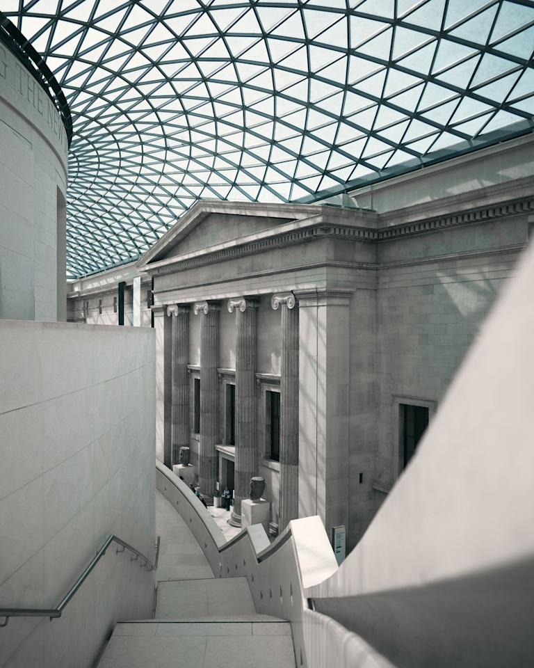 "<p>London is a cultural hub just waiting to be explored, and what better way to dive into history than by using the resources on offer at the British Museum? Older than the United States itself, this museum contains one of the most important collections in the world, illustrating the evolution of man from his beginnings to present day. Scroll through the ages as you explore art, history, religion, conflict and more. </p><p><a class=""body-btn-link"" href=""https://britishmuseum.withgoogle.com/"" target=""_blank"">Take a virtual tour </a></p>"