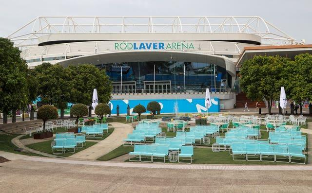 There were no matches at Melbourne Park on Thursday
