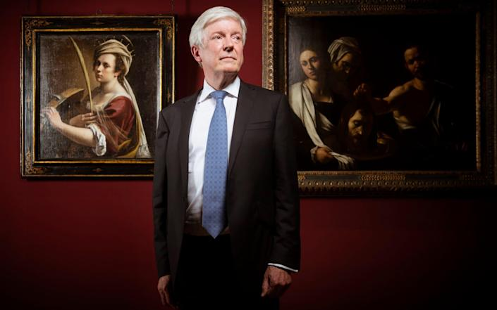 Tony Hall has resigned as chair of the National Gallery - Geoff Pugh