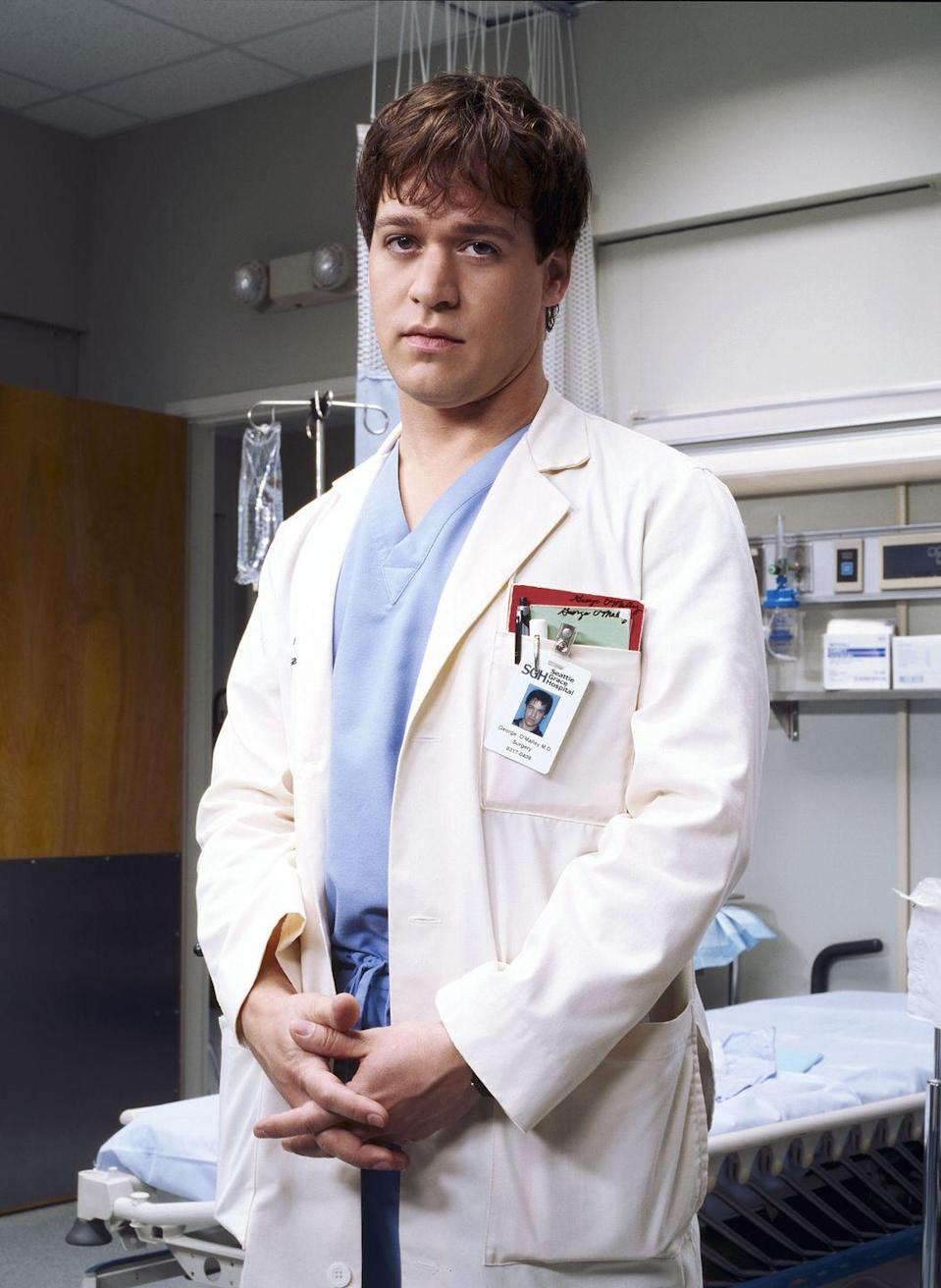 <p>Rounding out the original group of interns at the heart of the show was T.R. Knight as George O'Malley. </p>