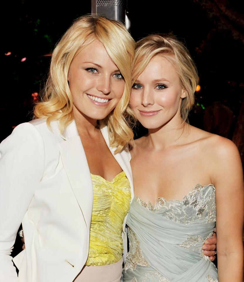 "<a href=""http://movies.yahoo.com/movie/contributor/1808422842"">Malin Akerman</a> and <a href=""http://movies.yahoo.com/movie/contributor/1808491155"">Kristen Bell</a> at the Los Angeles Premiere of <a href=""http://movies.yahoo.com/movie/1810045875/info"">Couples Retreat</a> - 10/05/2009"