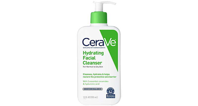 CeraVe Hydrating Facial Cleanser For Normal To Dry Skin (Credit: Ulta)