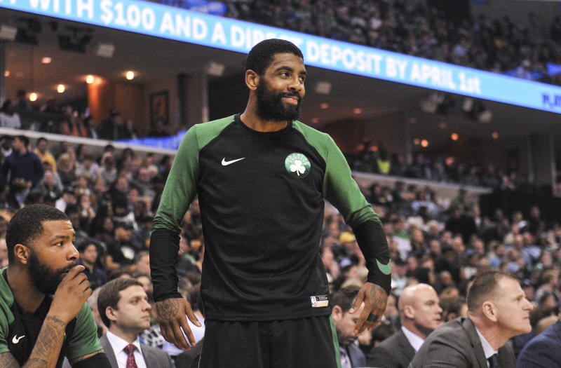 abddf10dacb5 Celtics star Kyrie Irving is a first-ballot Hall of Famer