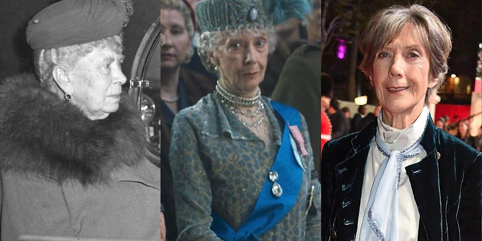 <p>Emmy-winning, Tony-nominated British actress Eileen Atkins played Mary of Teck, Queen Elizabeth II's grandmother, in Season 1 of <em>The Crown</em>.</p>