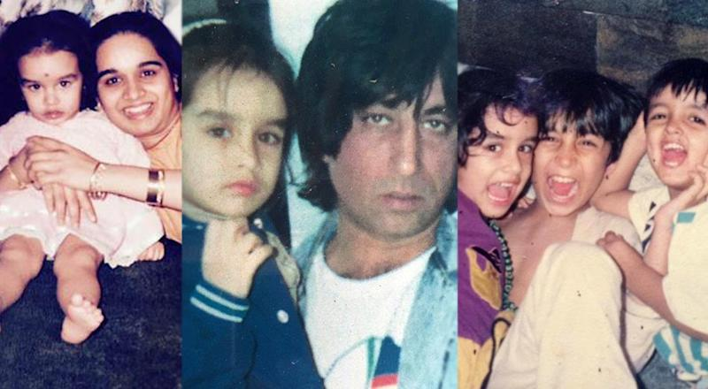 Image result for shraddha kapoor childhood pic transformation
