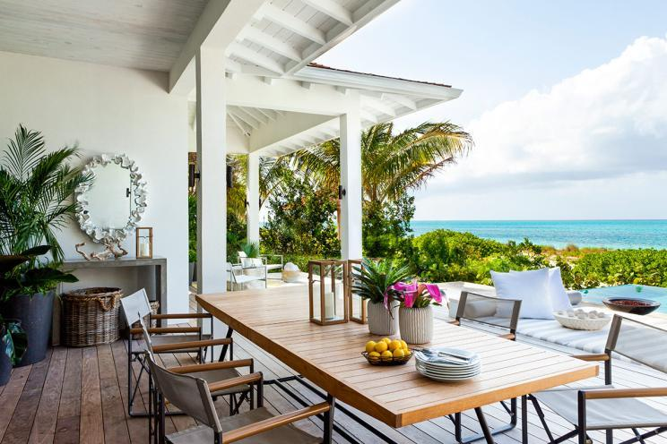 Grace Bay, Turks and Caicos. Source: Airbnb Luxe