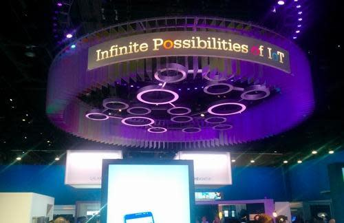 Sign reading infinite possibilities of the IoT