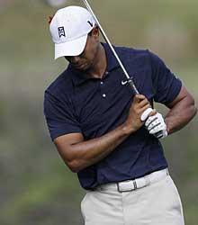 With his ongoing knee problems, the biggest question in golf now becomes: When will we see Tiger Woods again?