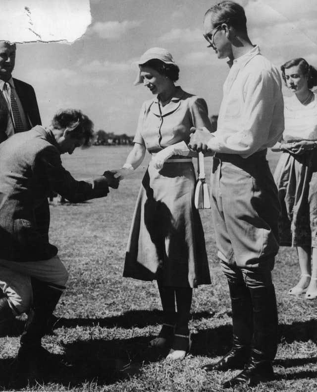 Princess Elizabeth and Philip in Kenya in 1952