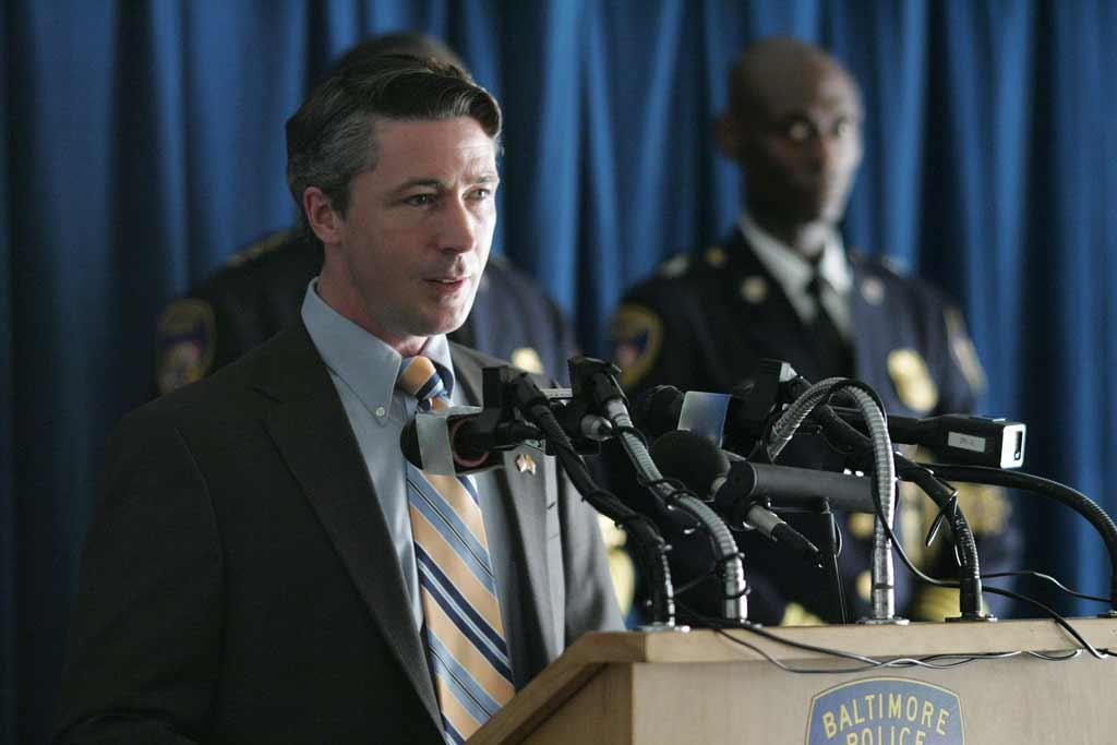 Aidan Gillen in The Wire.