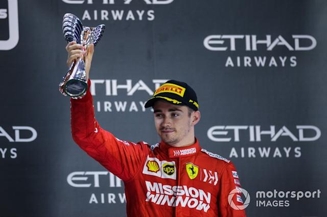 """#4 Charles Leclerc, F1 <span class=""""copyright"""">Zak Mauger / Motorsport Images</span>"""