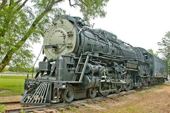 A steam locomotive built in 1937 was given a cosmetic makeover to prepare for its clean energy future.