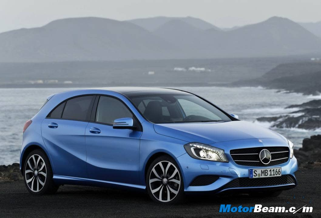 The stunning A-Class is already a success in Europe. The vehicle will be launched in May 2013 and will become the entry-level Mercedes vehicle in India.