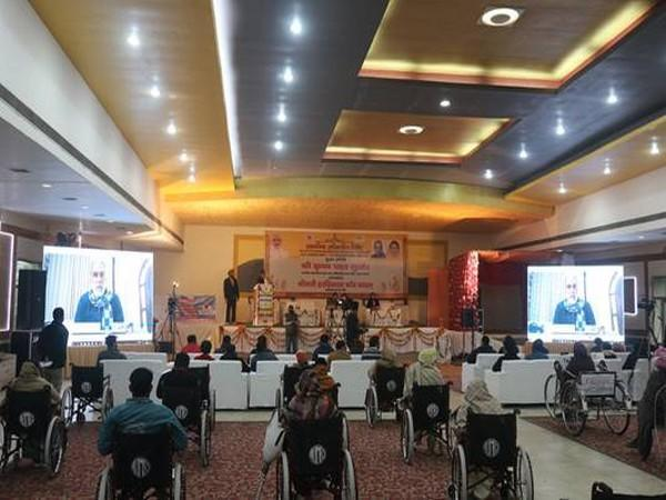 Ministry of Social Justice and Empowerment organizes distribution camp for senior citizens and specially abled (Photo: PIB)