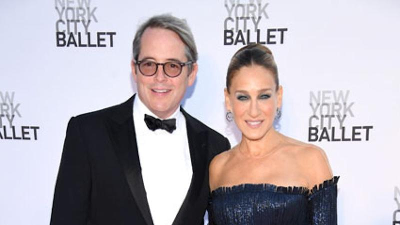 f817c782 Sarah Jessica Parker Dishes on Husband Matthew Broderick's Role on 'The  Conners' (Exclusive)