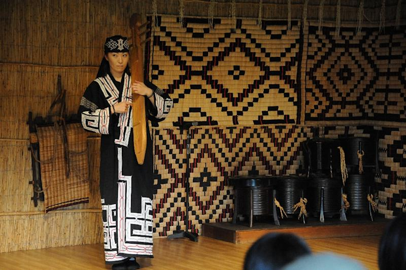 Japan's indigenous Ainu people have long suffered oppression and exploitation (AFP Photo/TOSHIFUMI KITAMURA)