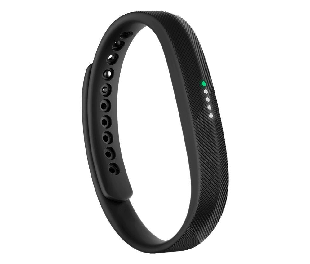 The Fitbit Alta is slimmer and less expensive than the Flex, but only provides notifications via its 4 LEDs.