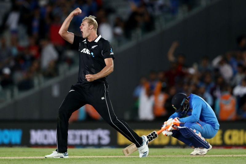 New Zealand wrapped up the ODI series with a gritty victory over India in Auckland