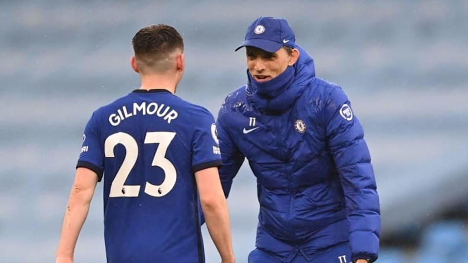 Thomas Tuchel, Billy Gilmour | Laurence Griffiths/Getty Images
