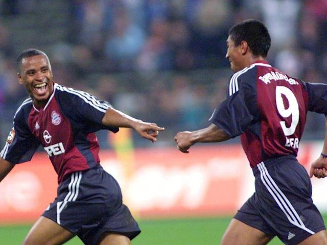 Bayern's understated Brazilians: Giovane Elber and Paulo Sergio (Bongarts/Getty )