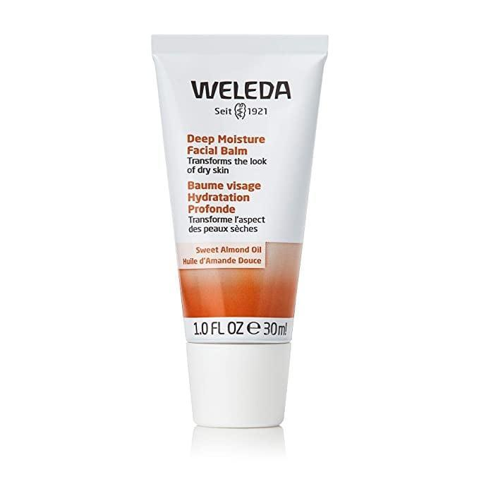 <p>Combat winter dryness with the <span>Weleda Deep Moisture Facial Balm</span> ($28). It contains sweet almond oil that will leave your skin moisturized.</p>