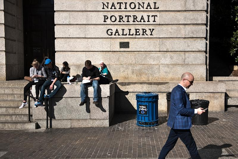 """The exhibit """"The Face of Battle: Americans at War, 9/11 to Now,"""" at the National Portrait Gallery hours after the United States launched its first military strike against the Syrian government, potentially opening a new battle front for the US"""