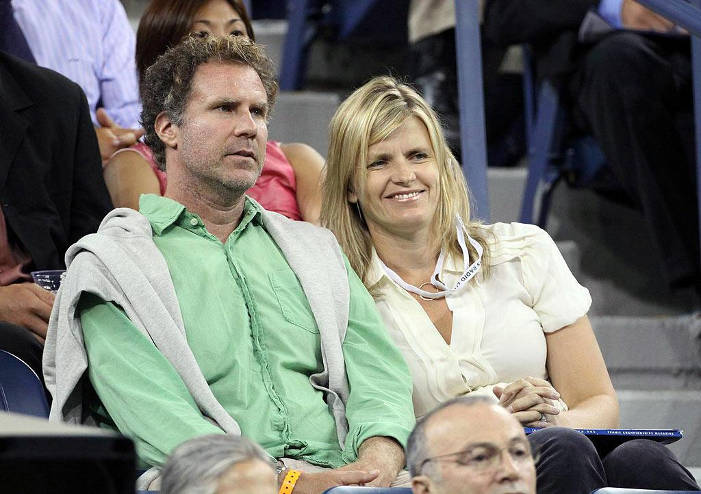 "Also in attendance ... funnyman Will Ferrell and wife Viveca, who happen to be huge Rafael Nadal fans. Juan Soliz/<a href=""http://www.pacificcoastnews.com/"" target=""new"">PacificCoastNews.com</a> - September 4, 2009"