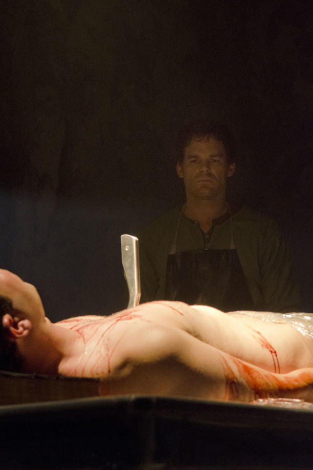 """Michael C. Hall as Dexter Morgan in the """"Dexter"""" Season 7 premiere, """"Are You…?"""""""