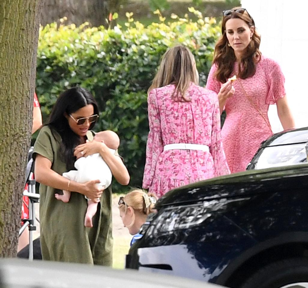 """The royals were out in full force on Wednesday to support <a href=""""https://people.com/tag/prince-william/"""">Prince William</a> and<a href=""""https://people.com/tag/prince-harry/"""">Prince Harry</a> in a <a href=""""https://people.com/royals/meghan-markle-kate-middleton-bring-kids-louis-archie-polo-match/"""">charity polo match</a>!"""