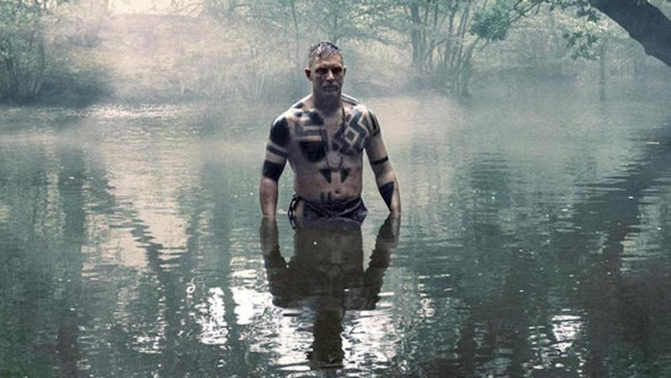 Tom Hardy loves getting naked (BBC)