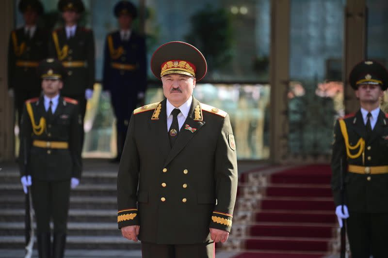 Britain imposes sanctions on Belarus leader and aides