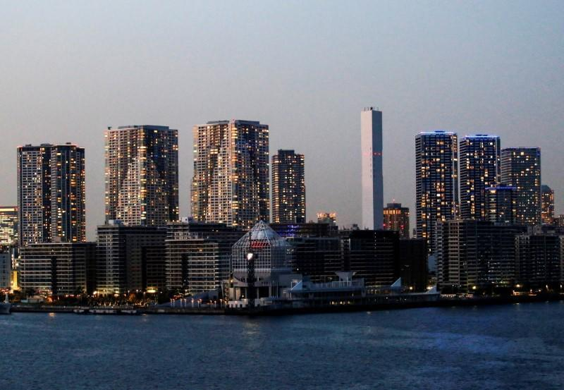FILE PHOTO: 2020 Tokyo Olympic Games athletes' village is pictured in Tokyo
