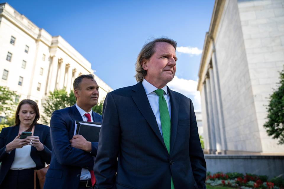 Former White House councel Don McGahn in Washington, D.C. (Getty Images)